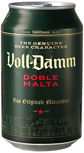 Cerveza Voll Damm Doble Malta Lata De 33 Cl 18 Anos